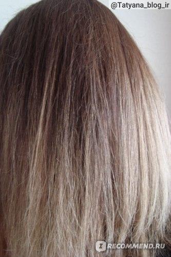 Внешний вид волос после применения филлера.