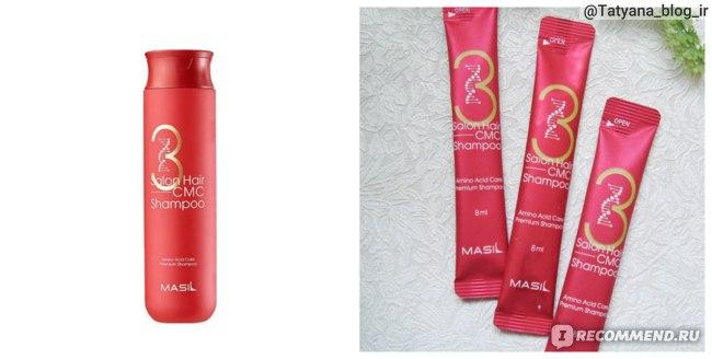 Восстанавливающий шампунь Masil с аминокислотами