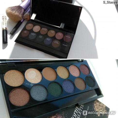 Палетка теней Sleek MakeUp Storm Palette фото