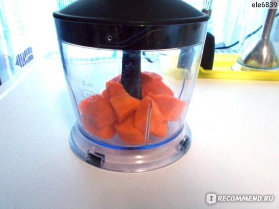 морковь до измельчения