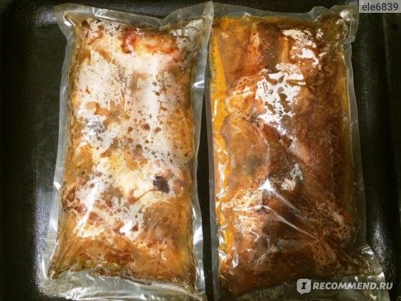 Натуральные полуфабрикаты из мяса птицы для жарки Любинский деликатес НОЖКИ «По-кубански» мясокостные в маринаде фото