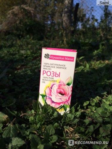 Крымское Эфирное Масло 100% натуральное Розы фото