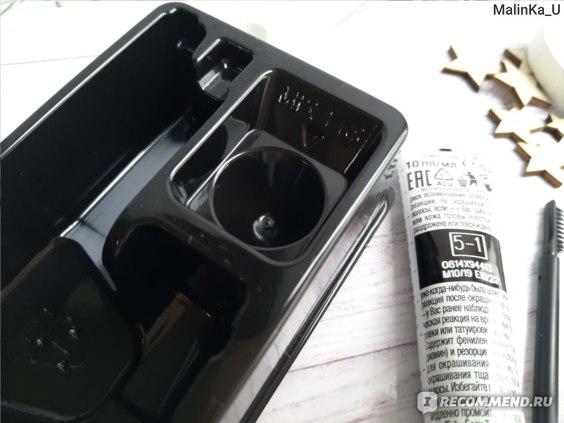 Стойкая краска для бровей и ресниц SYOSS Brow tint, оттенок5-1 - светло-каштановый.