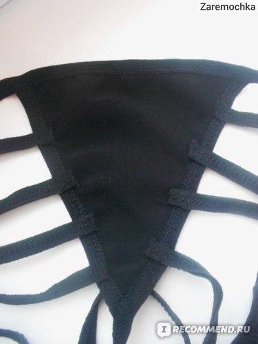 Эротическое белье Aliexpress Women s Sexy Lingerie Leather Dress Underwear Babydoll Sleepwear G string Swimsuits фото
