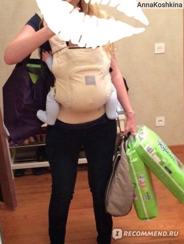 Эргономичный рюкзак I Love Mum  фото