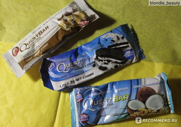 Quest Nutrition Протеиновый батончик Bar фото