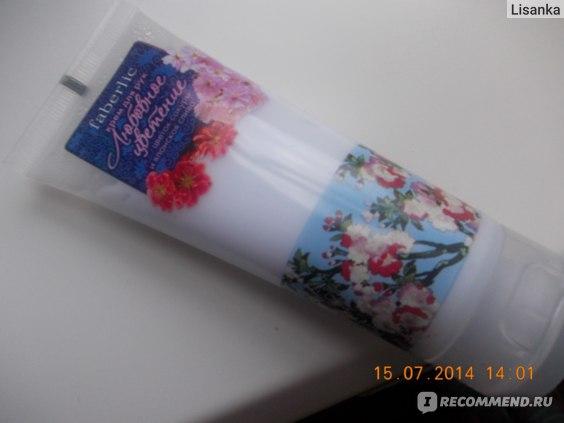Крем для рук Faberlic «Любовное цветение» фото