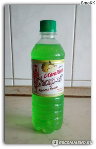 Спортивный напиток Shaper Fitness Drink L-Carnitine со вкусом Яблока фото