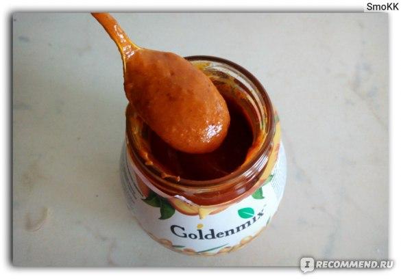 Десерт Goldenmax Облепиха протертая с сахаром и абрикосом фото
