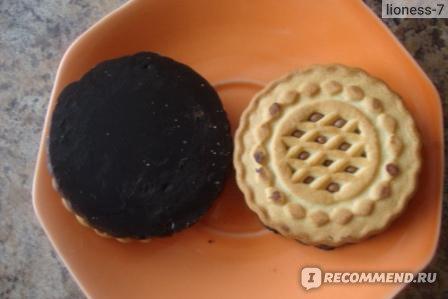 Печенье Конти Сгущенкино фото