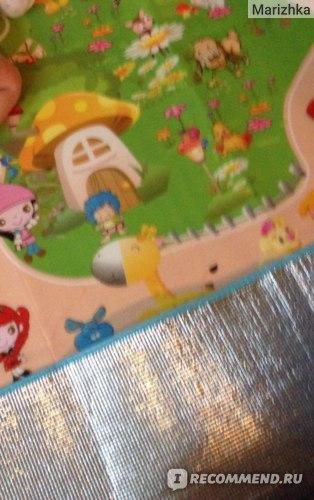Коврик развивающий Aliexpress 2015 Hot Sale Baby toy double-faced foam Play Mat, Letter animal paradise Safety+Gym floor Mat,Kids Climb Blanket 270370 фото