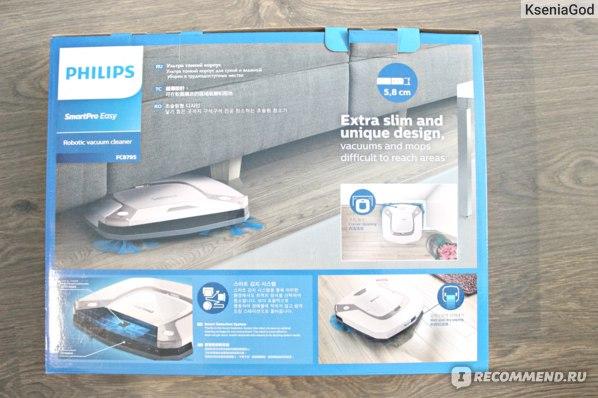 Робот-пылесос Philips Smart Easy FC8795/1 фото