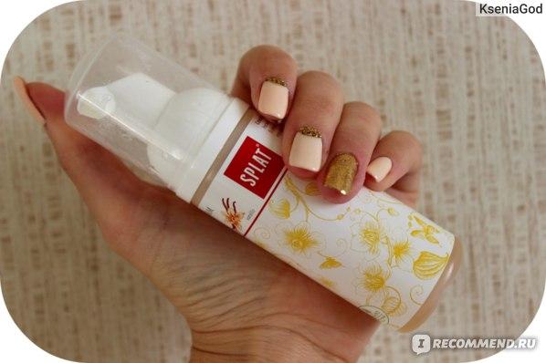 Очищающая пенка для зубов и десен SPLAT Vanilla (бурбонская ваниль) фото