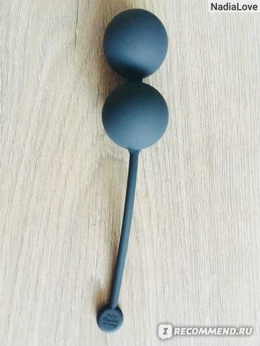 Вагинальные шарики Fifty Shades of Grey Tightenand Tense Silicone Jiggle Balls - отзыв