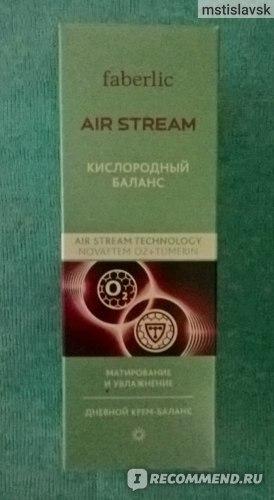 Крем для лица Faberlic Дневной баланс серии Air Stream  фото