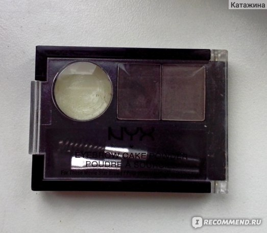 Пудра для бровей NYX Eyebrow cake powder фото