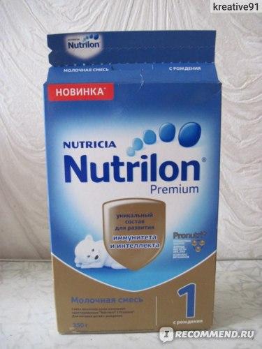 Детская молочная смесь Nutricia Nutrilon premium 1 в картонной упаковке фото