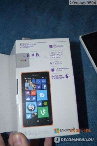 Мобильный телефон Microsoft Lumia 435 Dual SIM фото