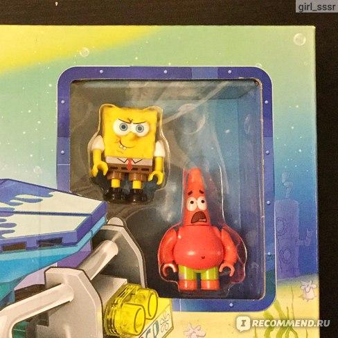 Конструкторы MEGA BLOKS SpongeBob Squarepants Лодка-монстр арт. DKT-71 фото