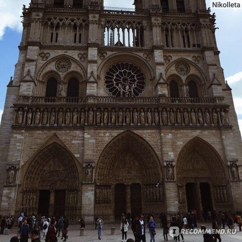 Собор Парижской Богоматери Notre Dame Cathedral, Париж, Франция
