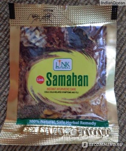 Средства д/лечения простуды и гриппа Herbals LV Противопростудный фито-чай  Samahan фото