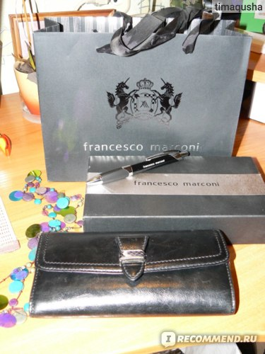Кошелек женский Francesco Marconi 60234fm фото