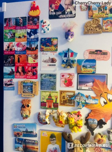 Магнитики на холодильник фото