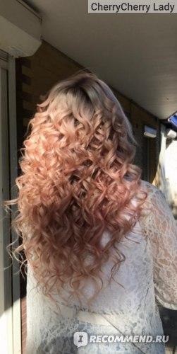 Розовый блонд фото