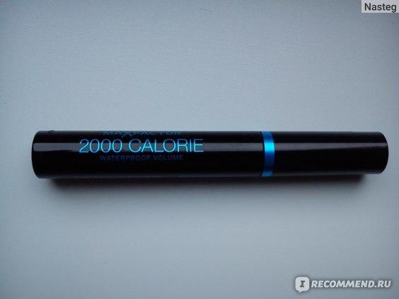 Тушь для ресниц Max Factor 2000 calorie waterproof volume фото
