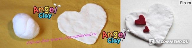 Поделка из глины Angel Clay.