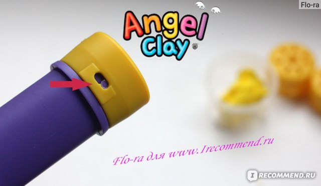 "Набор чудо-глины для творчества ANGEL CLAY ""Милый ангел"" фото"