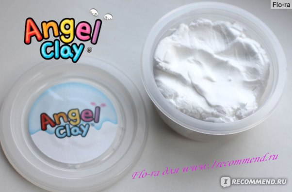 Белая глина Angel Clay.