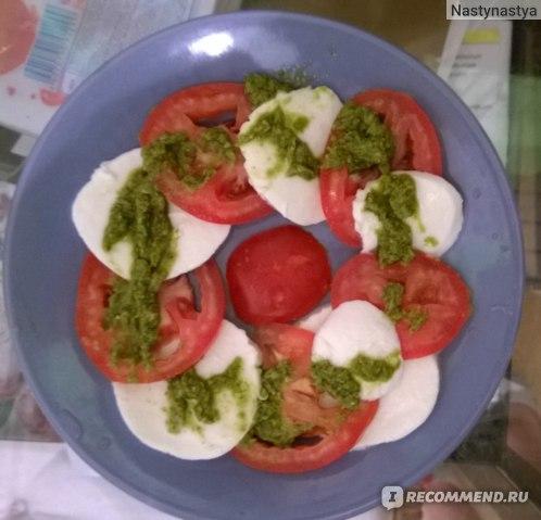 Соус Rewise  на основе растительных масел Pesto Alla Genovese фото