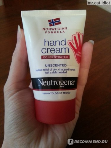 Крем для рук Neutrogena® Hand cream (без запаха) фото