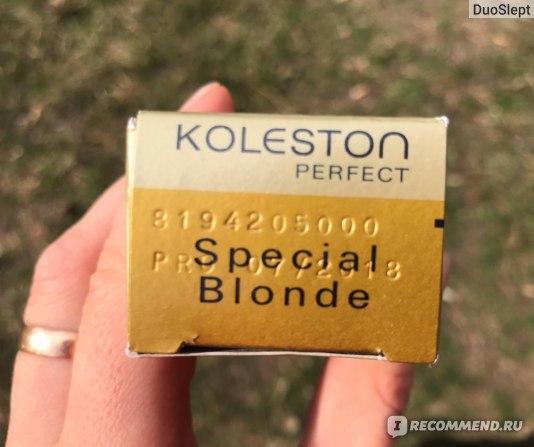 Краска для волос Wella Kоleston Perfect Special Blonde 12/96