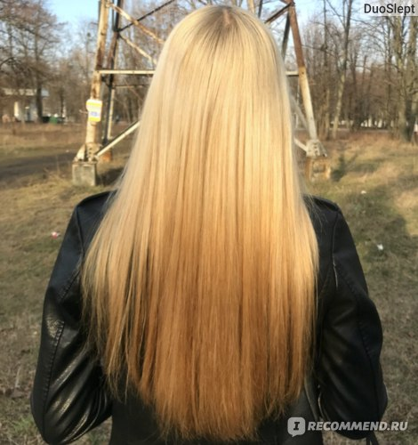 Масло для кончиков волос Hair Trend Total Oil Repair