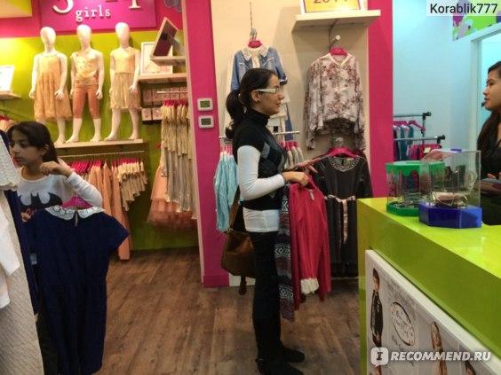 """OAЭ Рас-Эль-Хайма , магазин детской одежды """"FG 4 LONDON """" фото"""