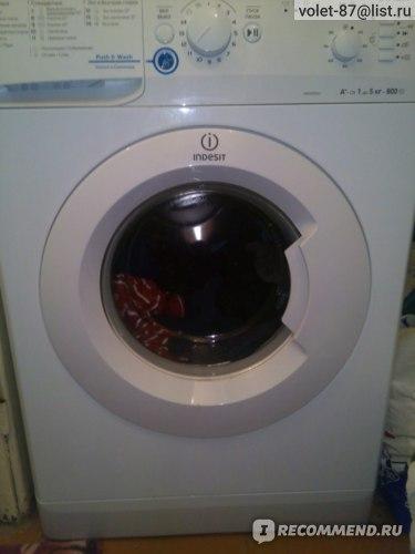 Стиральная машина Indesit NWSB5851 фото