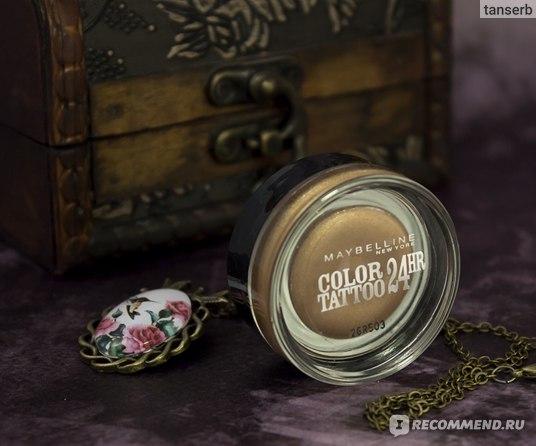 Тени для век MAYBELLINE Color tattoo фото