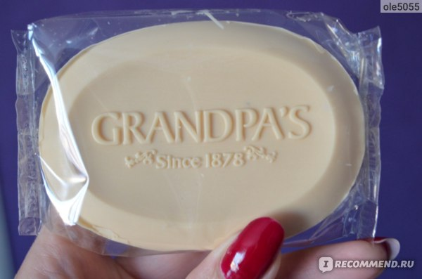 Мыло    Grandpa's, Thylox, Acne Treatment Soap with Sulfur фото