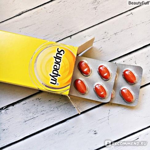 супрадин таблетки отзыв