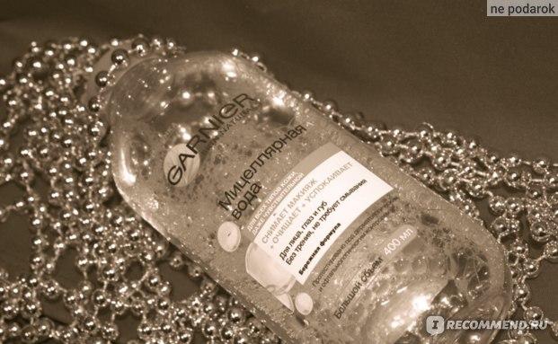 Мицеллярная вода Garnier  фото
