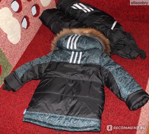 """Комплект (куртка и штаны) """"ЗИМКА"""" Зимний костюм для мальчика 4-7 лет. Модель 314 фото"""