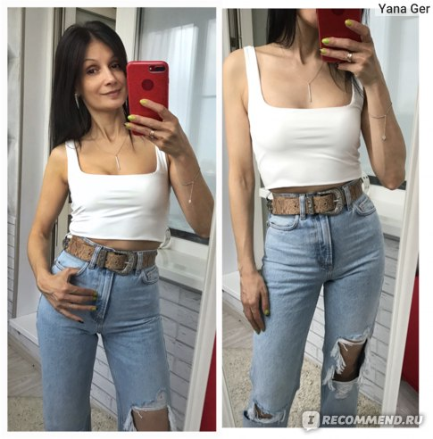 Топ AliExpress LUNDUNSHIJIA Hot Sale 2019 Summer Women Sexy Sleeveless Tops Fashion Short Square Collar Tank Tops 4 Colors фото