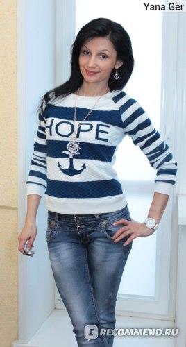 Кофта AliExpress 2015 women fashion circle star sc co print long sleeve pullover sweater fashion tops S M L XL Free shipping 060 фото