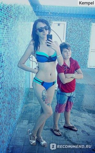 Купальник AliExpress 2014 Women's Bandage Bikini Set Push-up Padded Bra Swimsuit Bathing Suit Swimwear фото