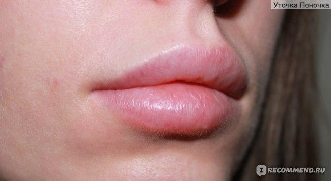 Бальзам для губ Две линии с коллагеном Collagen фото