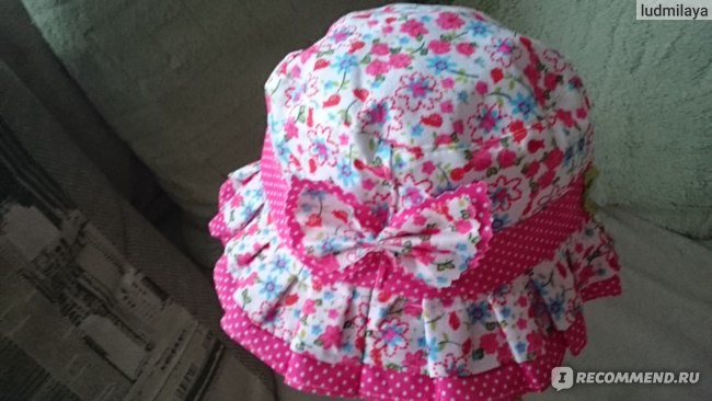 Панама AliExpress baby girl flower and jeans hat infant kid caps several colors for 1 4 years фото
