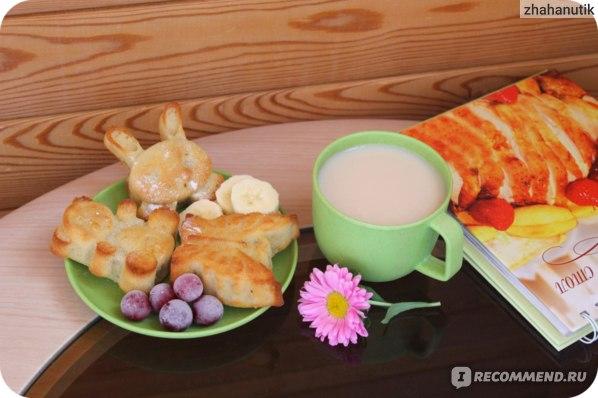 Творожно-банановые кексы