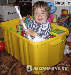 Ящик для игрушек фото